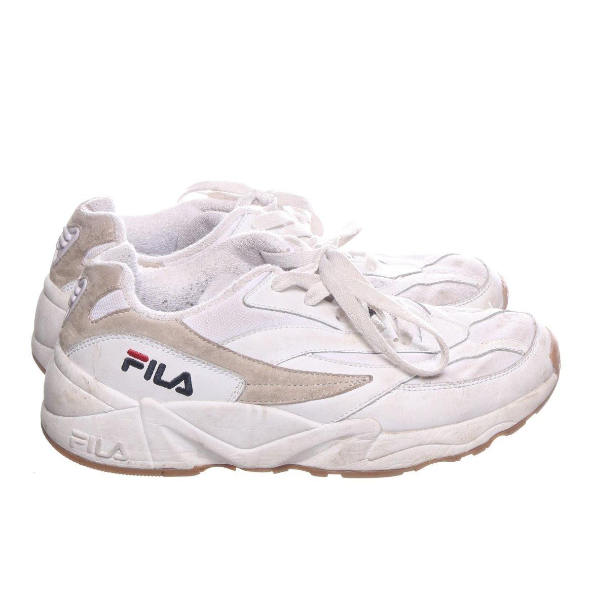 Fila, Sneakers, Strl: 42, Venom Low, Vit, Skinn