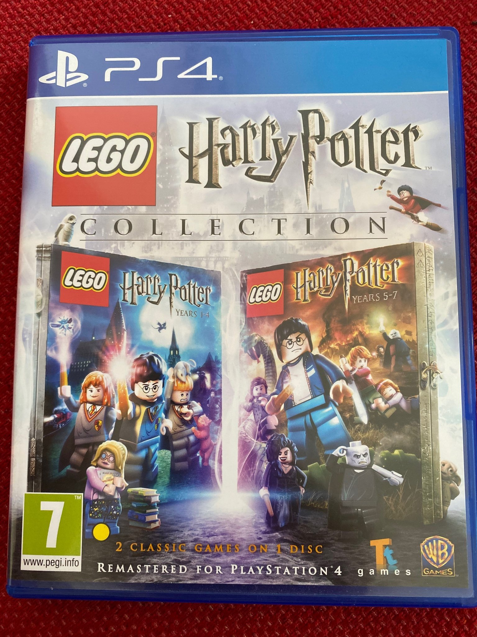 Harry Potter lego 2in1 spel PS4 collection