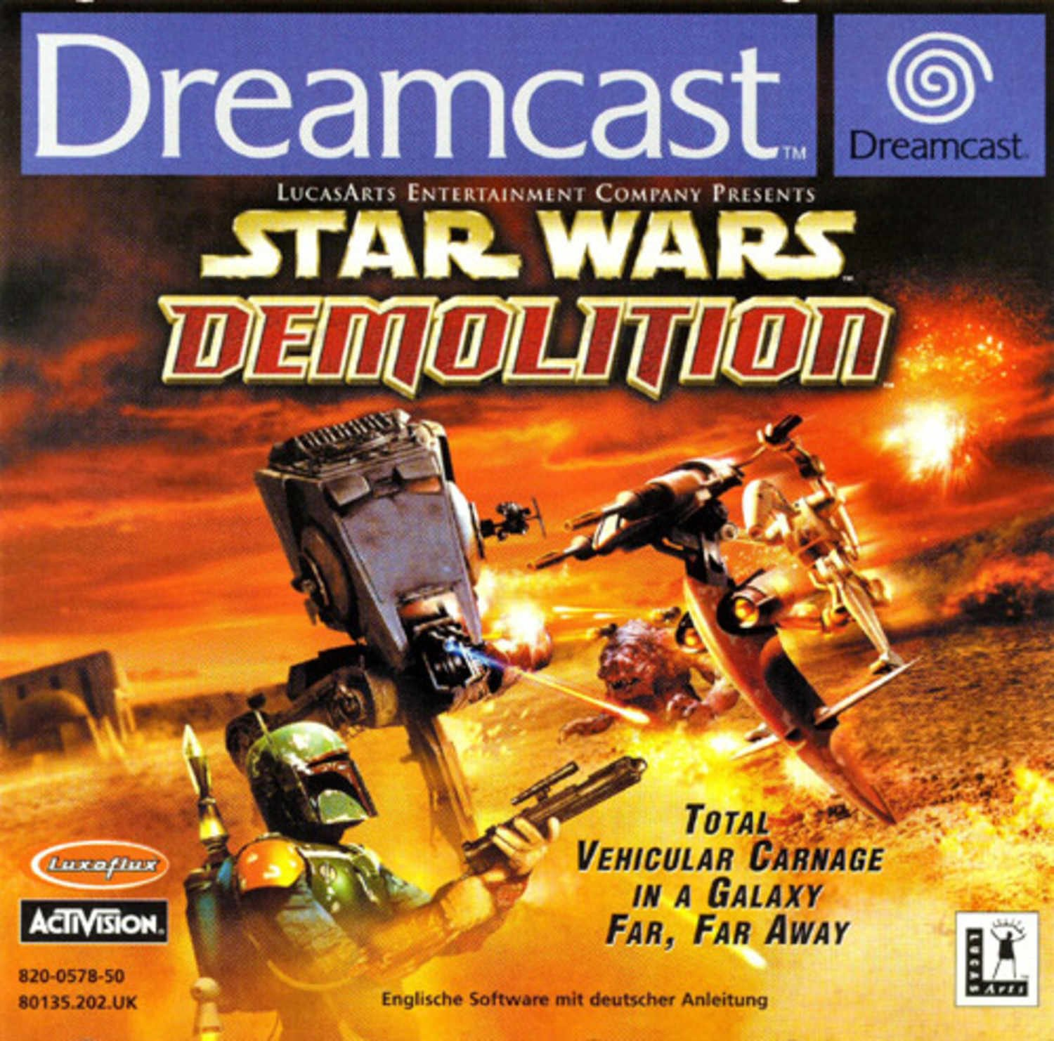 Star Wars Demolition - Dreamcast