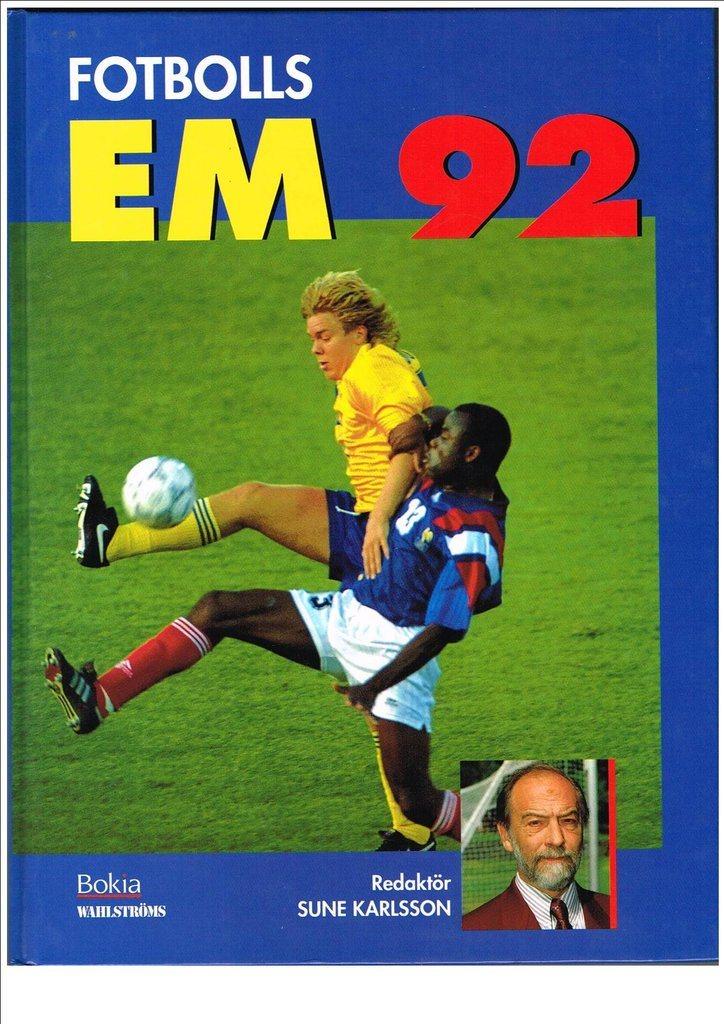 EM 1992  FOTBOLLS EM 92 - Sune Karlsson (333840741) ᐈ Köp på Tradera c489bf502323e
