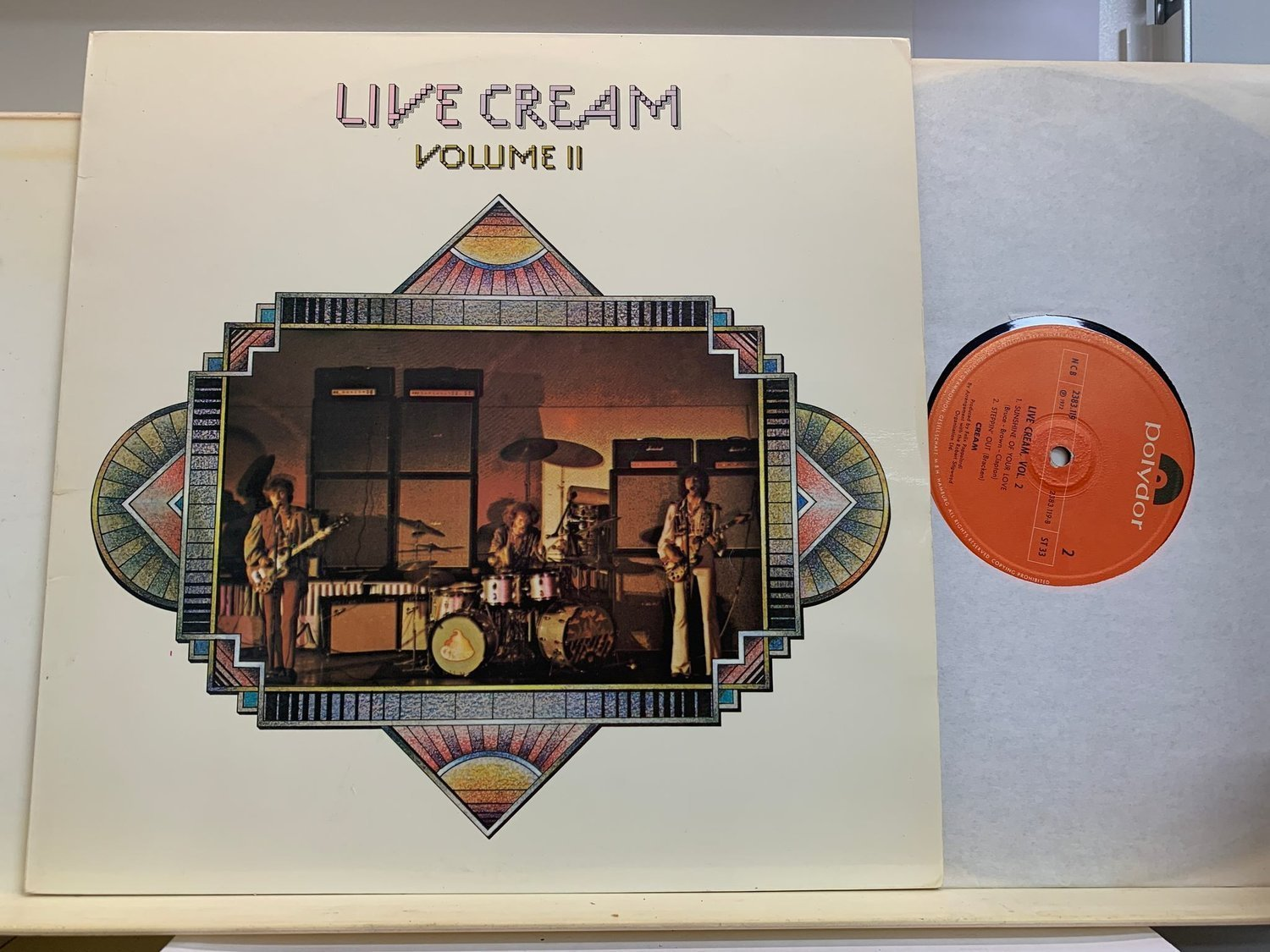 CREAM - LIVE CREAM - VOL II