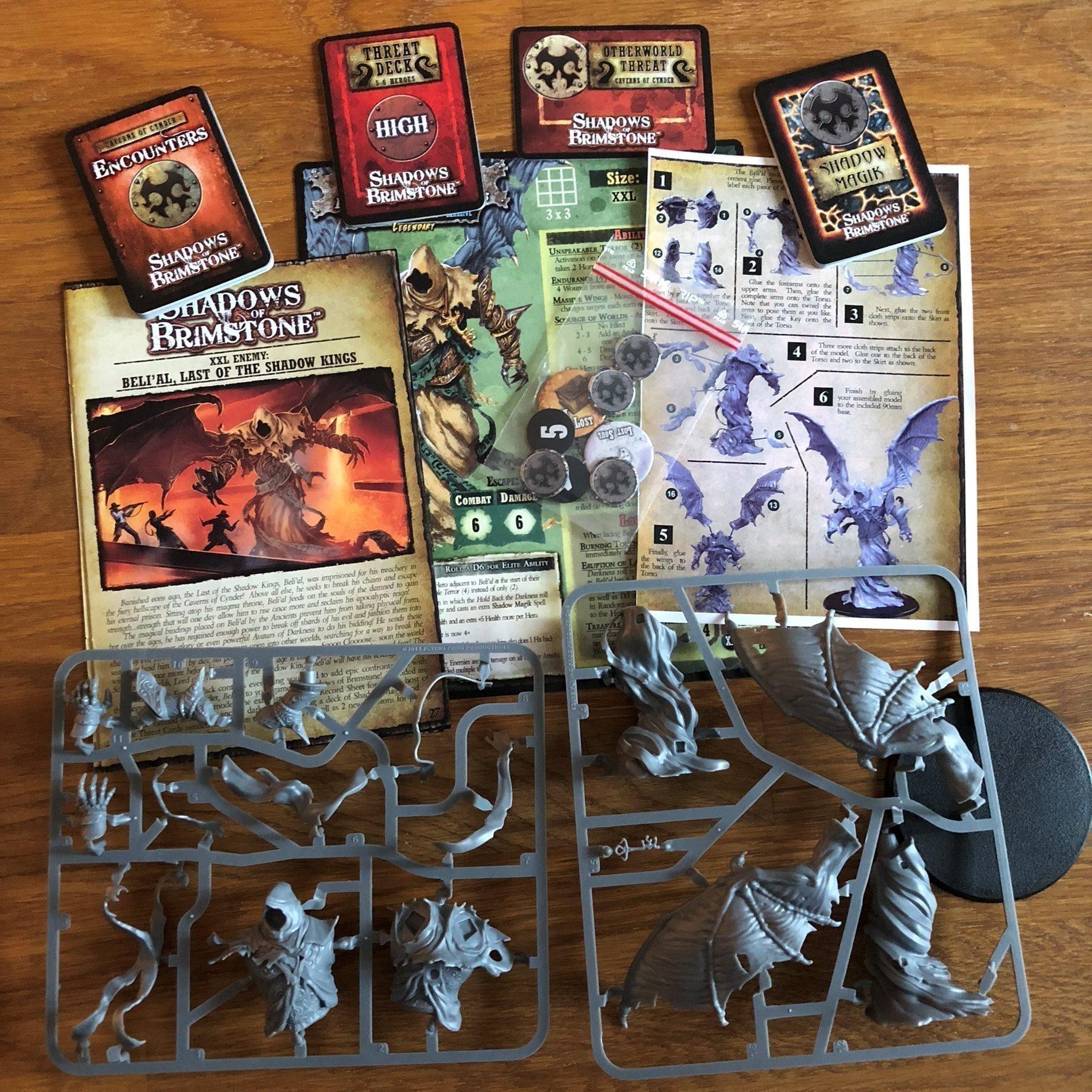 Shadows of Brimstone Beli'al Last Of The Shadow Kings Enemy Pack