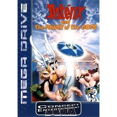 ASTERIX AND THE POWER OF THE GODS (komplett) till Sega Mega Drive