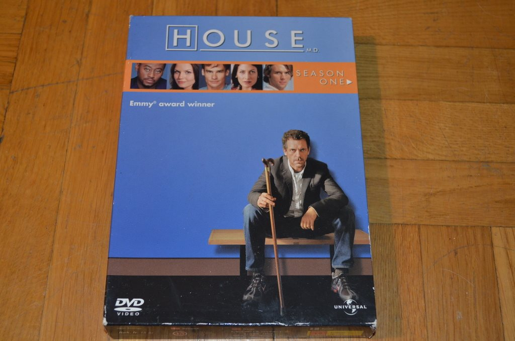 House Säsong 1 6-Disc DVD Box