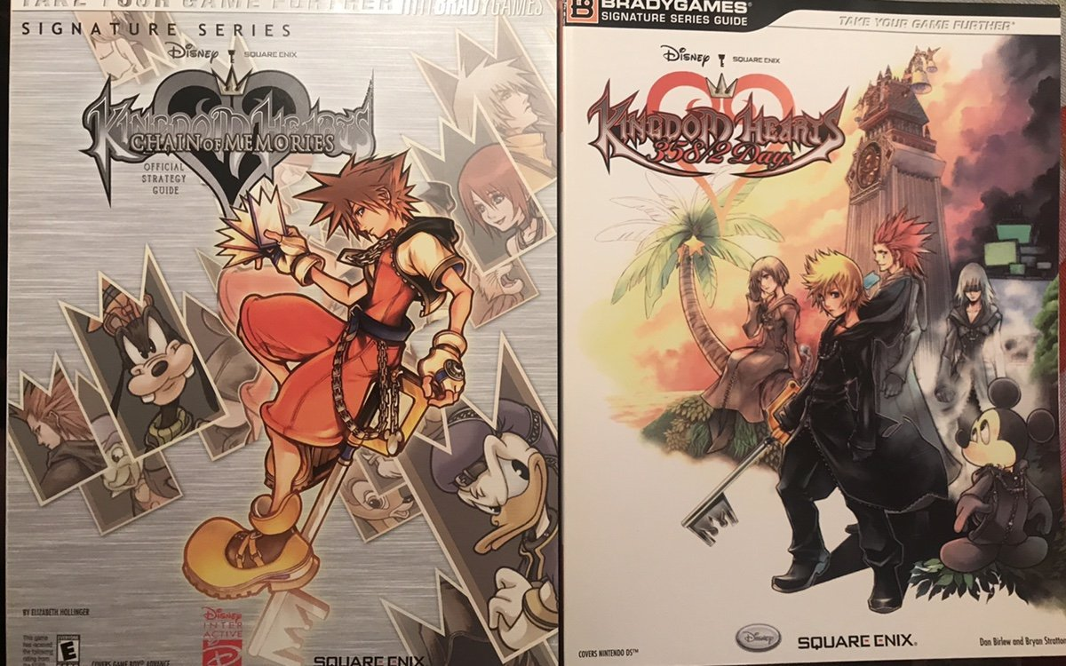 Kingdom Hearts Ii Bradygames Official Strategy Guide Square Enix