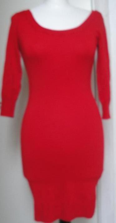 3a43e940e1f8 Chic snygg röd klänning från HM ny (296501025) ᐈ Köp på Tradera