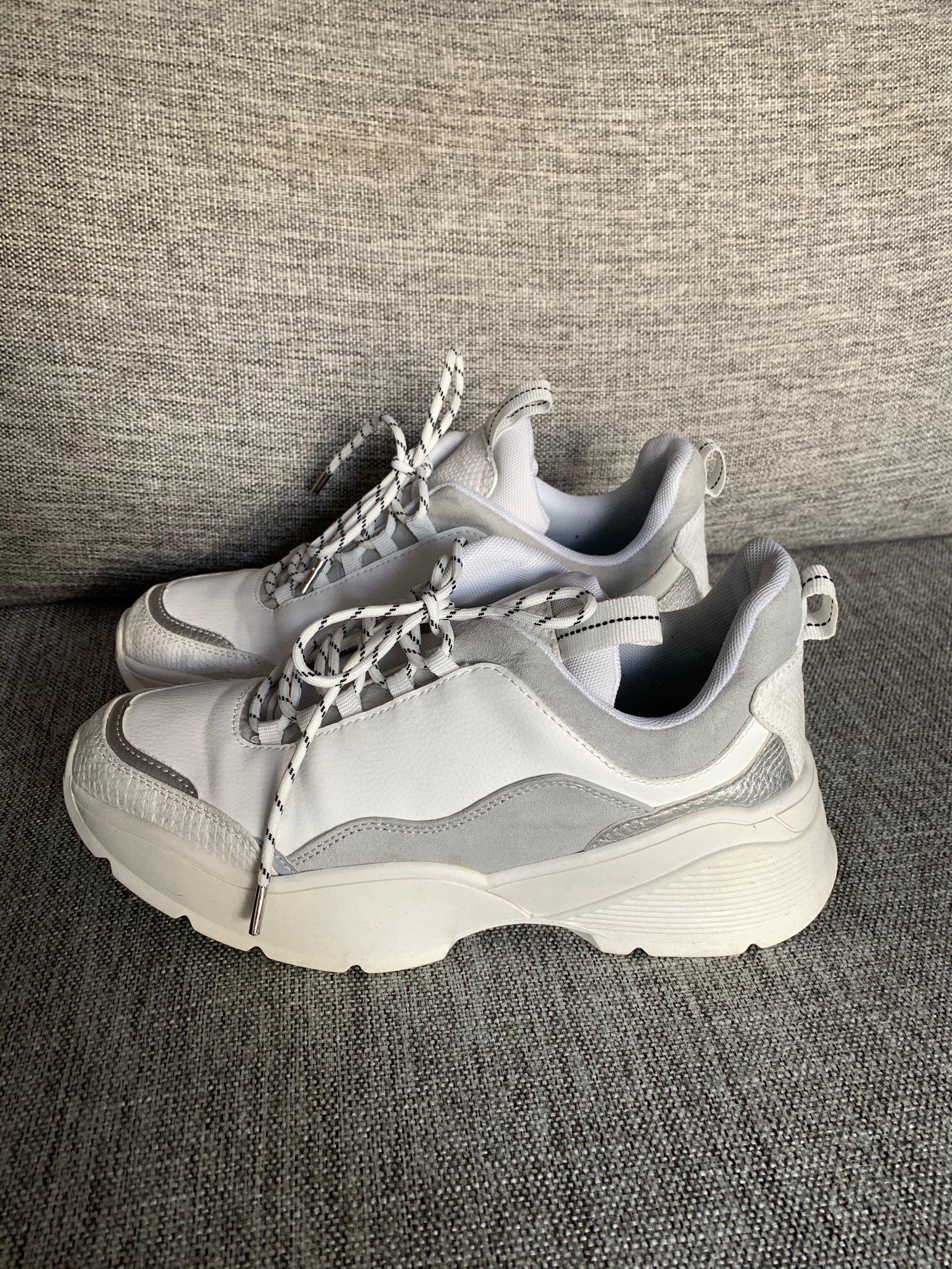 Chunky sneakers trend skor grov sula hm H&m 38