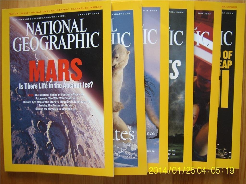 National Geographic 2004 6st. [17]