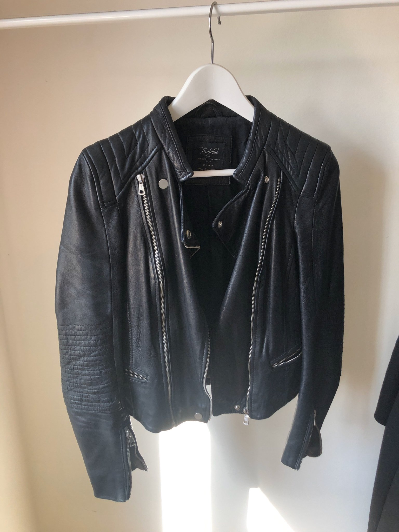 Skinnjacka Zara (394410063) ᐈ Köp på Tradera