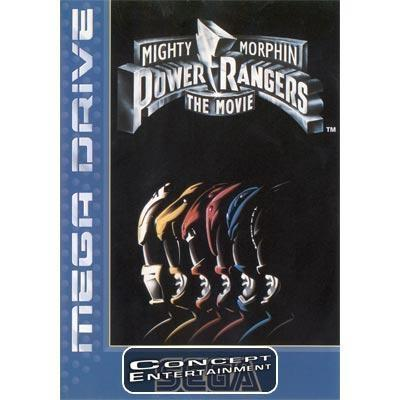 POWER RANGERS - THE MOVIE (komplett) till Sega Mega Drive