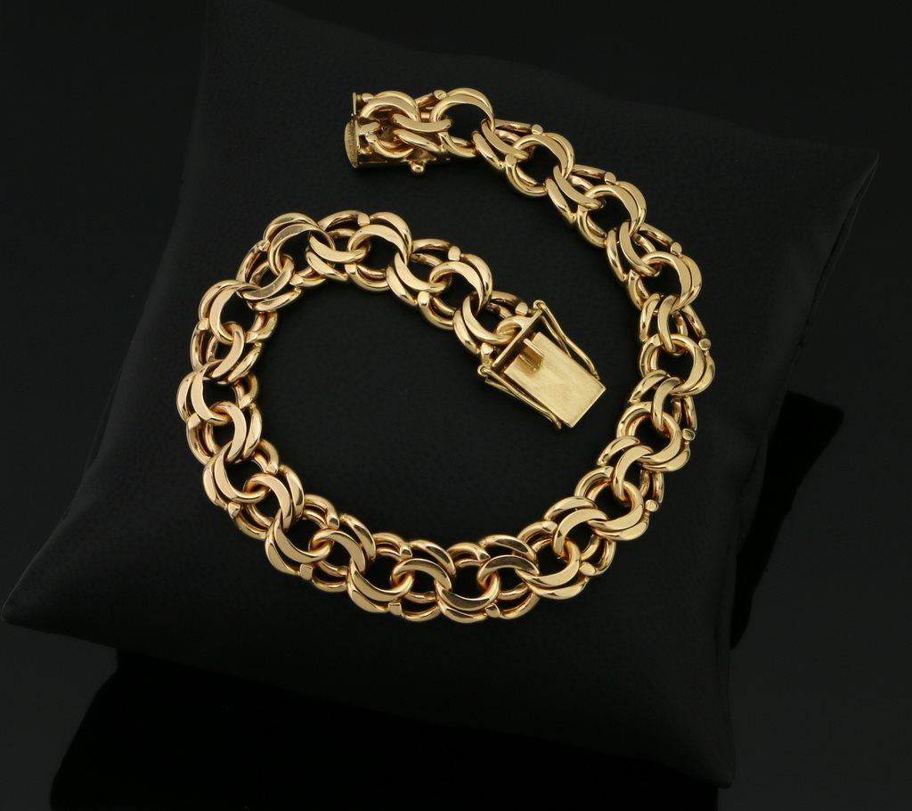 Tyngre Bismarck Armband 18K Guld .. (272030716) ᐈ OskmanDesignAB på ... 1cfc3c9f91a0c