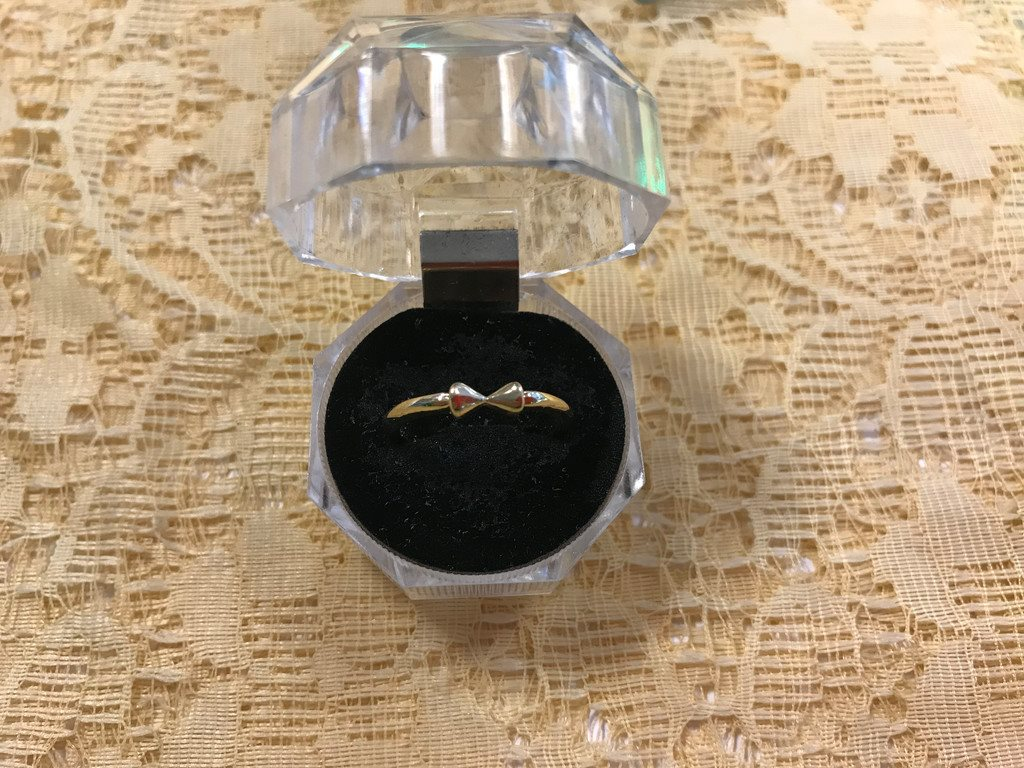 Superfin ring i gul