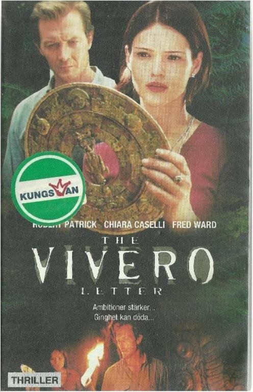 THE VIVERO LETTER  (VHS FILM - SVENSK TEXT )