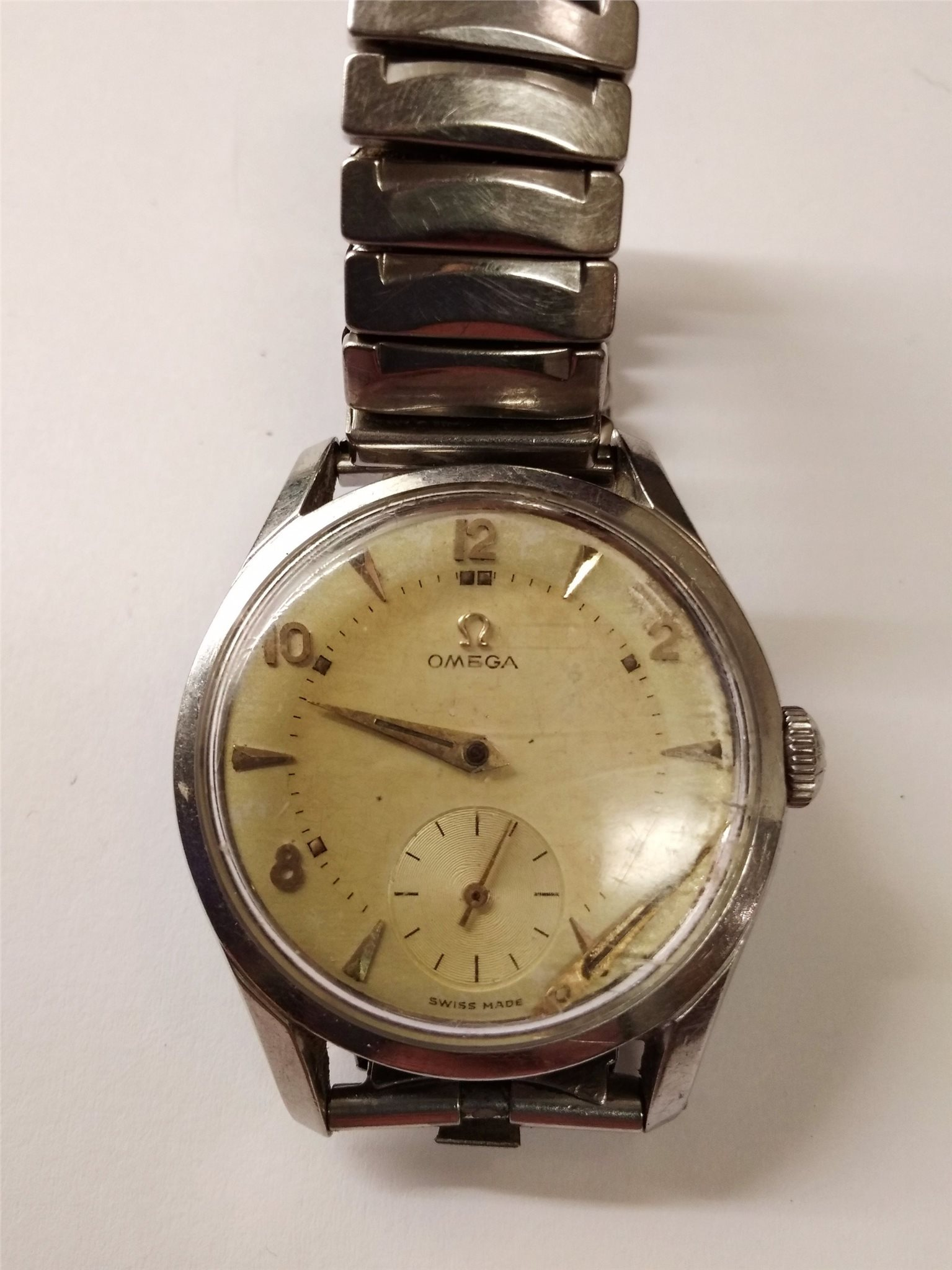 Omega swiss made (reparationsobjekt)