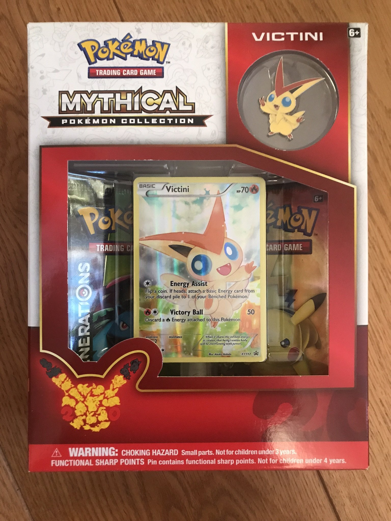 Pokémon - Mythical Pokemon Collection VICTINI  - Trading Card Game