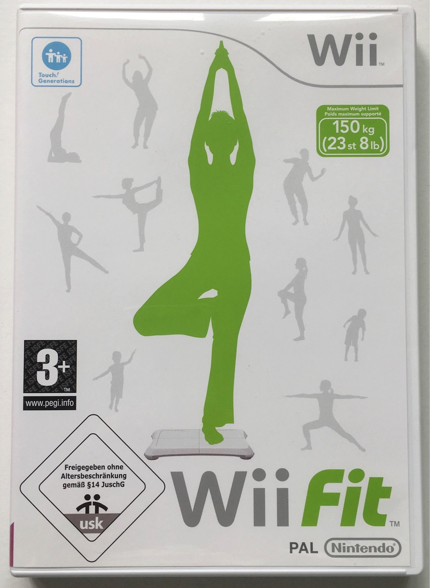 Nintendo Wii: Wii Fit, Spel, Tv-spel