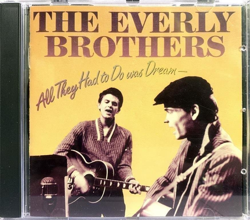 EVERLY BROTHERS - ALL THEY HAD TO DO WAS DREAM