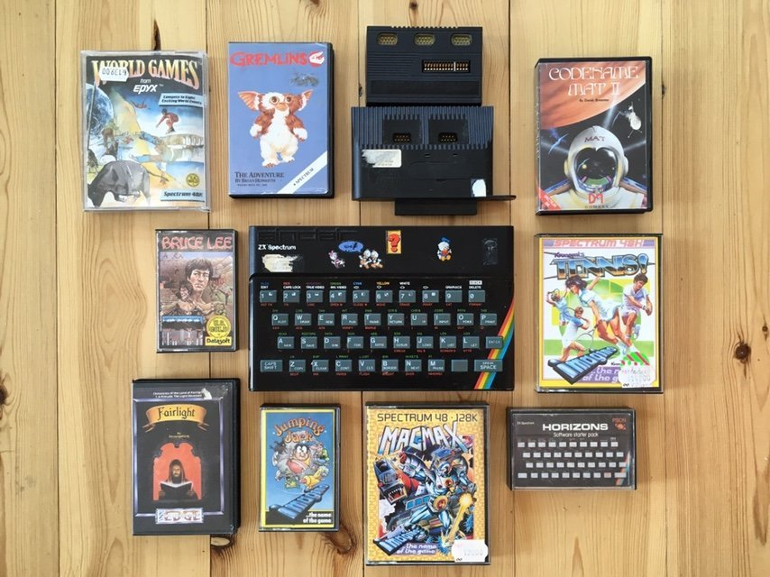 Ongebruikt Retro Tv-Spel Sinclair ZX Spectrum + Spel (353485739) ᐈ Köp på QA-98
