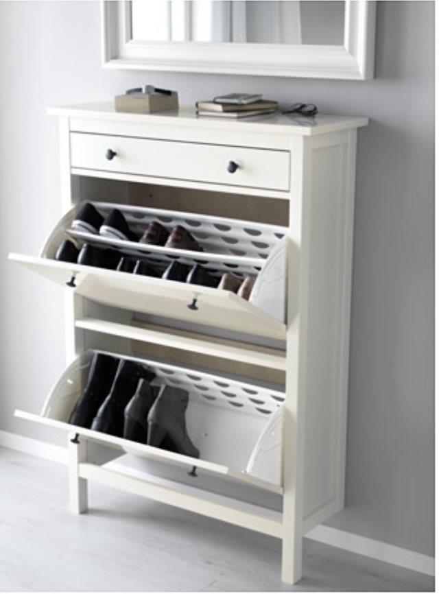 Skoskåp från Ikea på Tradera com Byråer och skåp Förvaring