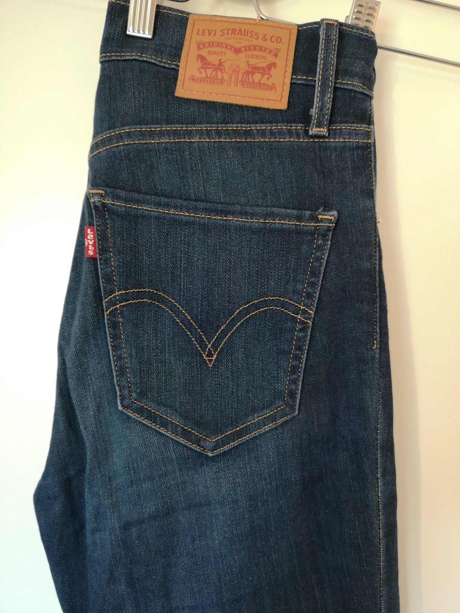 0475e00ae9f Levi's Jeans Mile High stl 24 (348348312) ᐈ Köp på Tradera