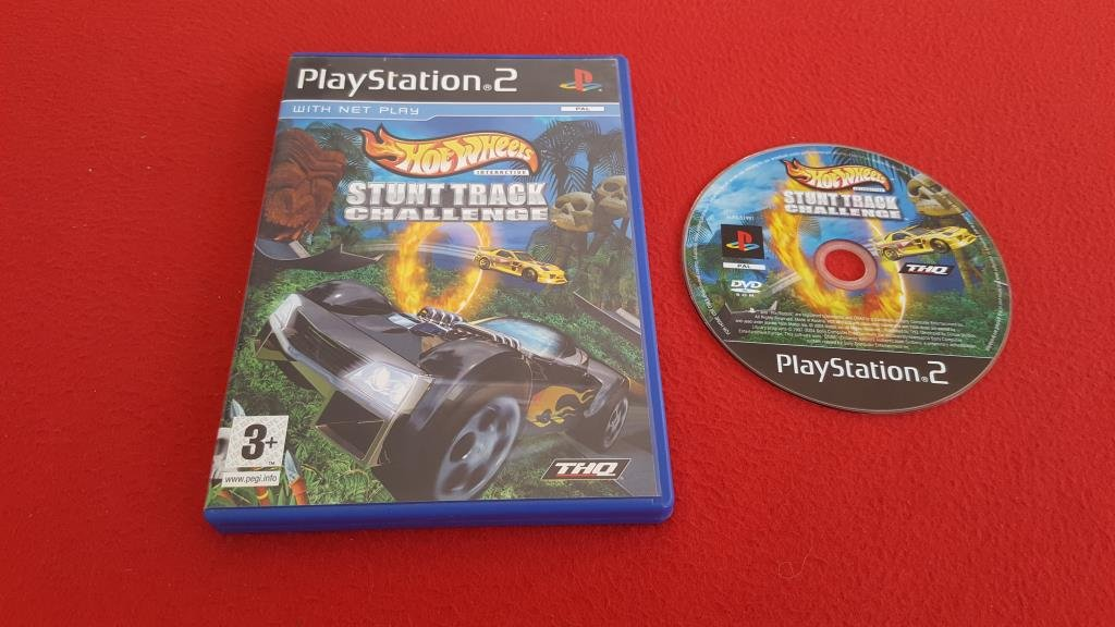 HOT WHEELS STUNT TRACK CHALLENGE till Sony Playstation 2 PS2