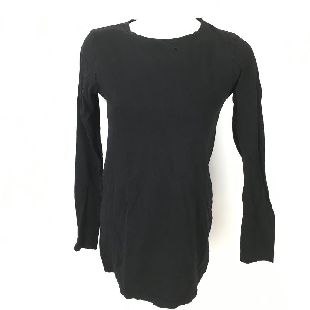 svart lång tröja