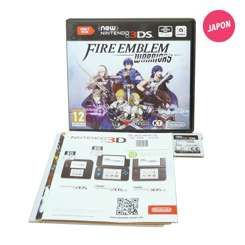 Fire Emblem Warriors (EUR / 3DS)