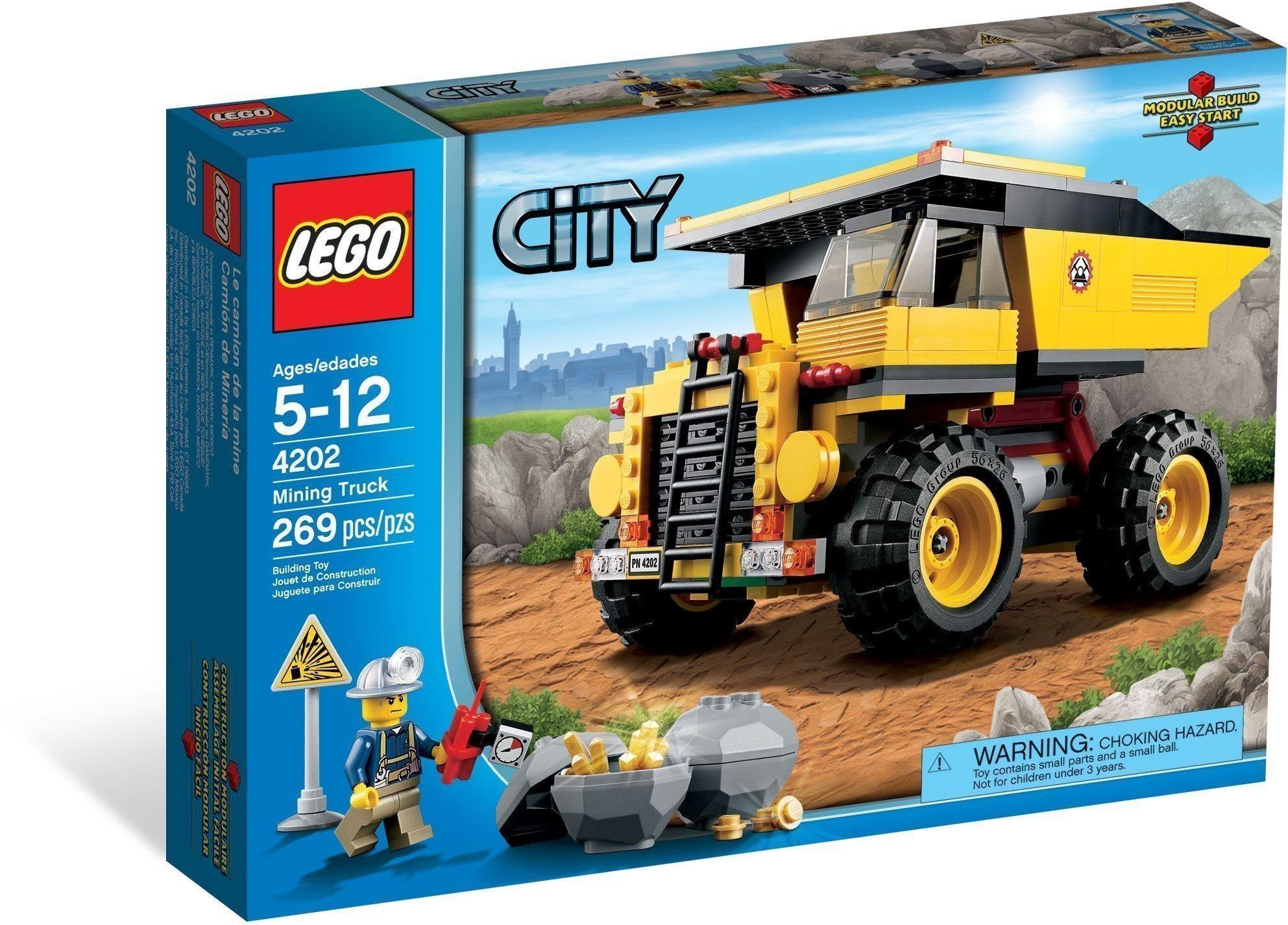 092ad6e47bbb LEGO City 4202 Mining Truck, raritet från år 20.. (356175558) ᐈ Köp ...
