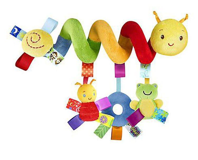 Baby Leksak Larv/Catterpillar Färglad Hängande