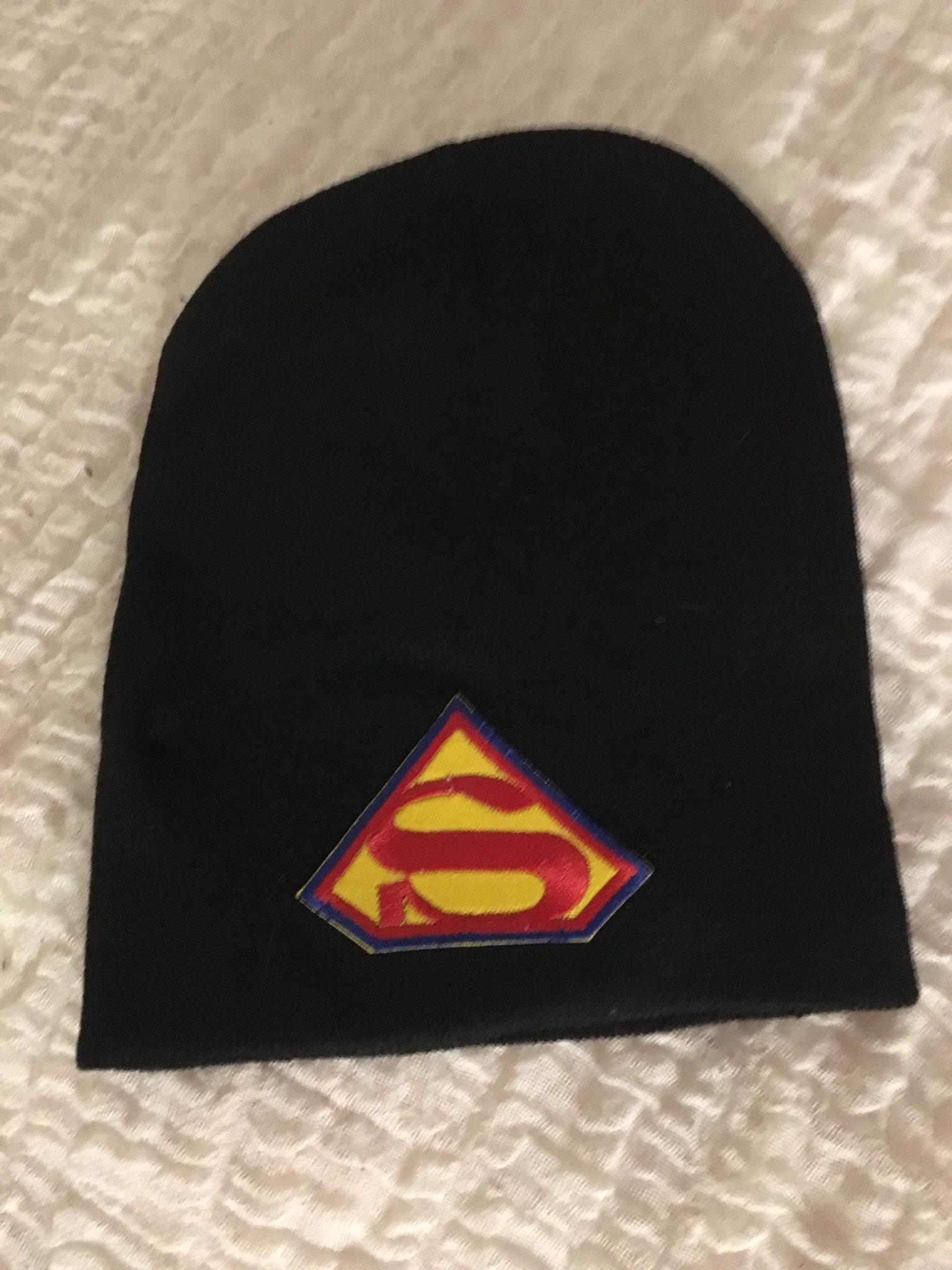 Superman mössa - HELT NY! (332997208) ᐈ Köp på Tradera 5317dc6e2d96d