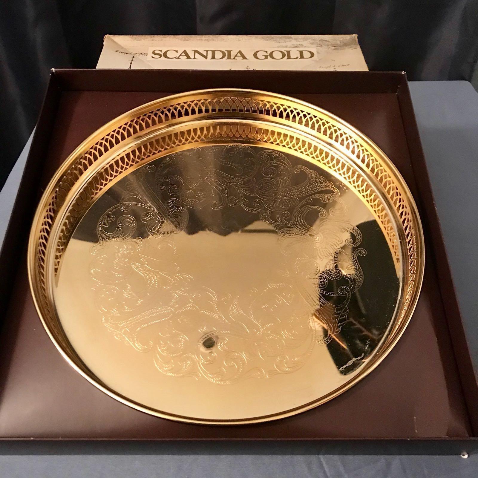 Scandia guldbricka