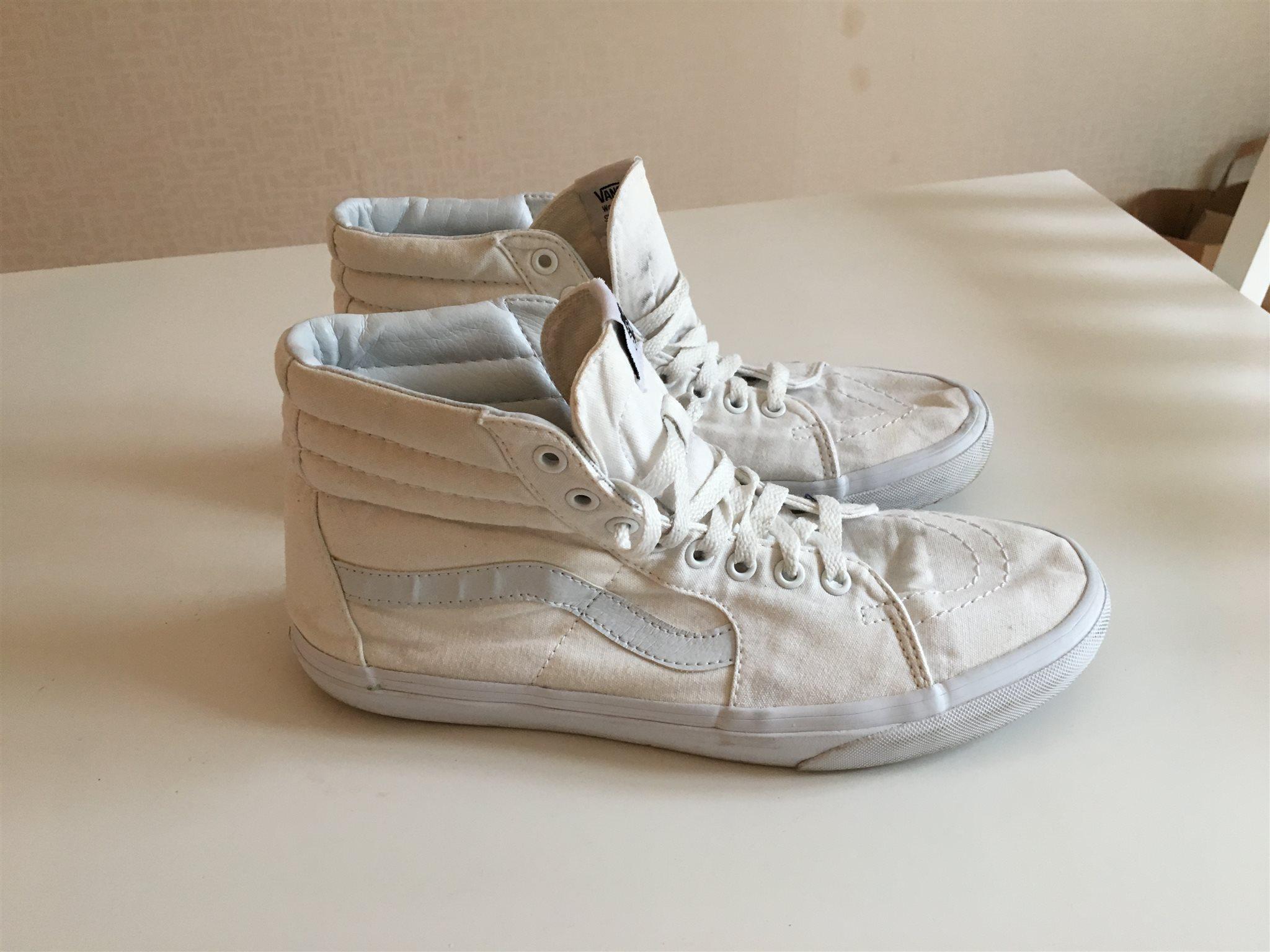 vans höga sneakers