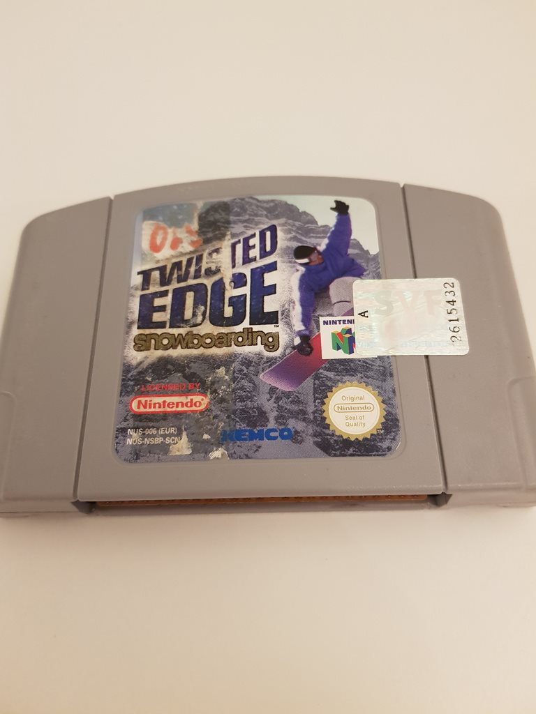 Nintendo - N64 - Twisted Edge