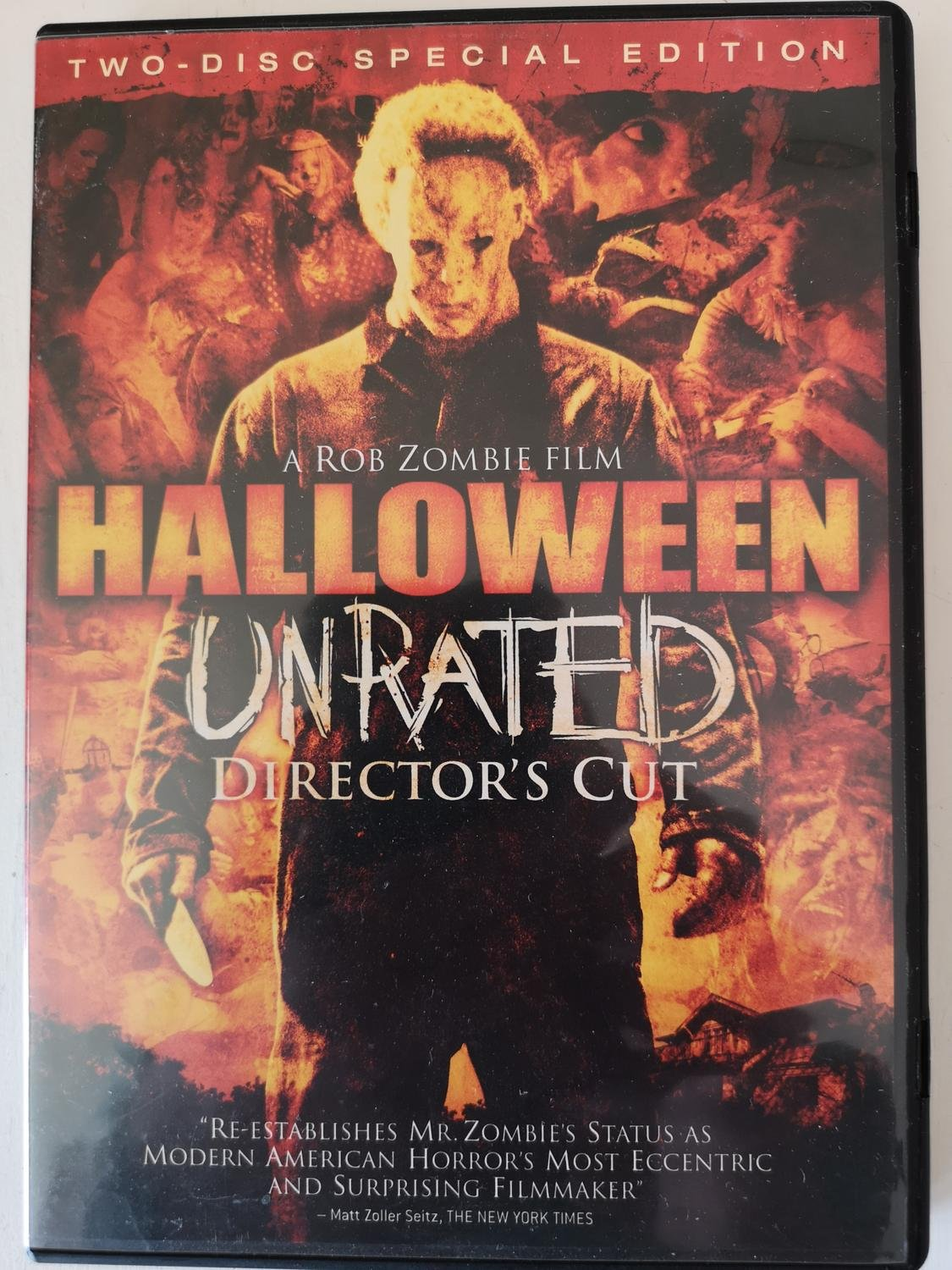Halloween Unrated - 2 disk (2007) Rob Zombie med Malcolm McDowell, Brad Dourif.