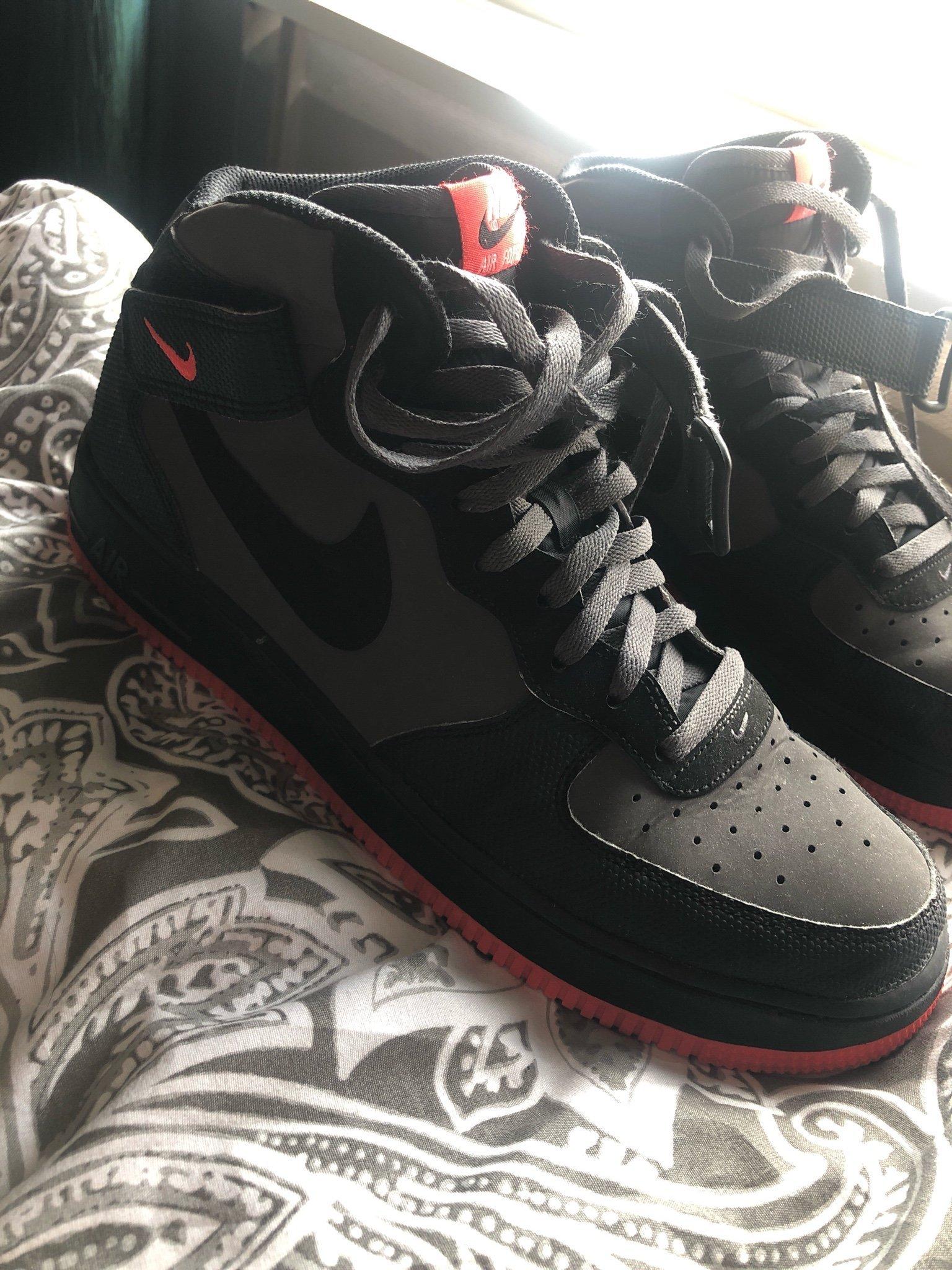 newest 69bf9 8b016 Nike Air Force 1 HIGH 46 (348643698) ᐈ Köp på Tradera