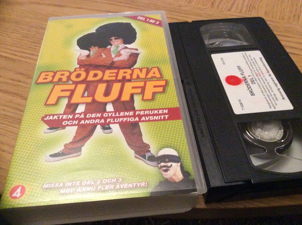 bröderna fluff dvd