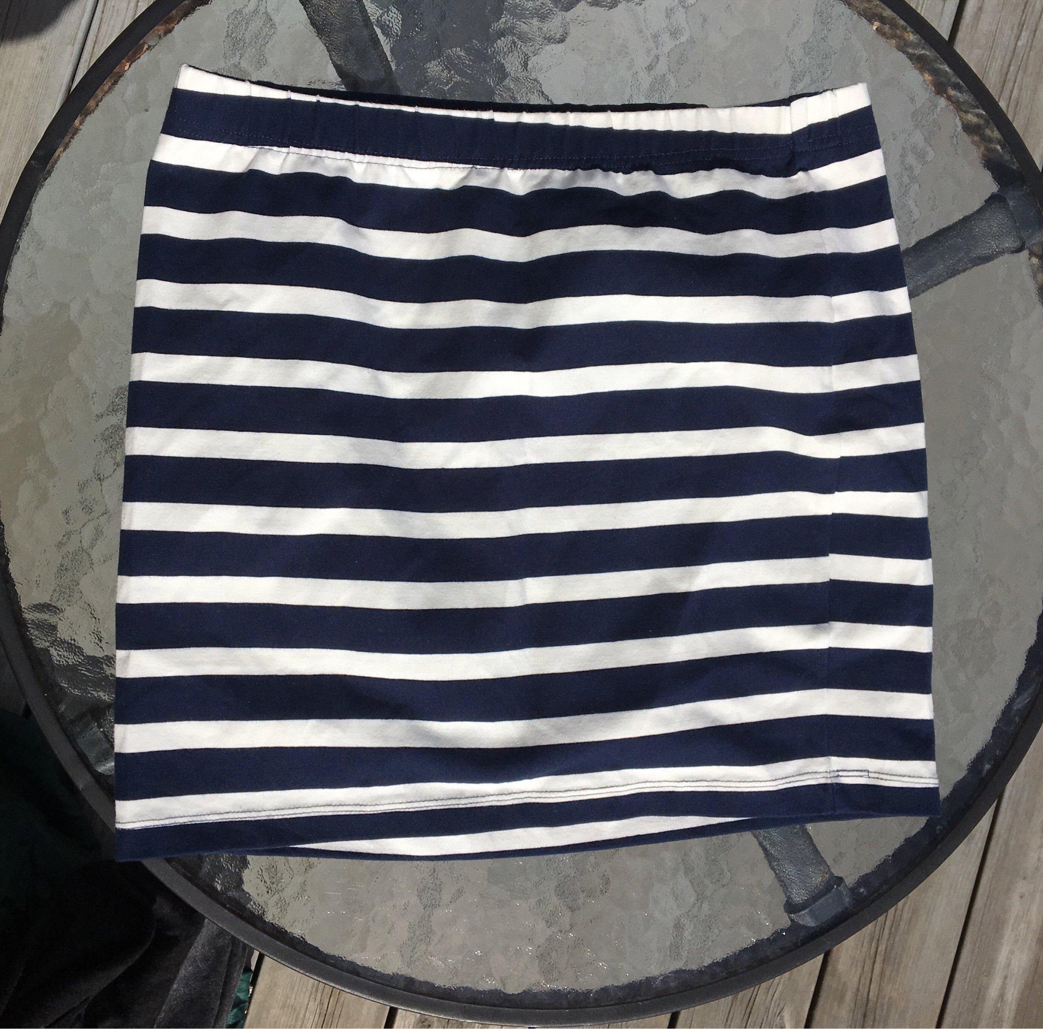Blå Randig marinblå kjol 59:50 | Lindex