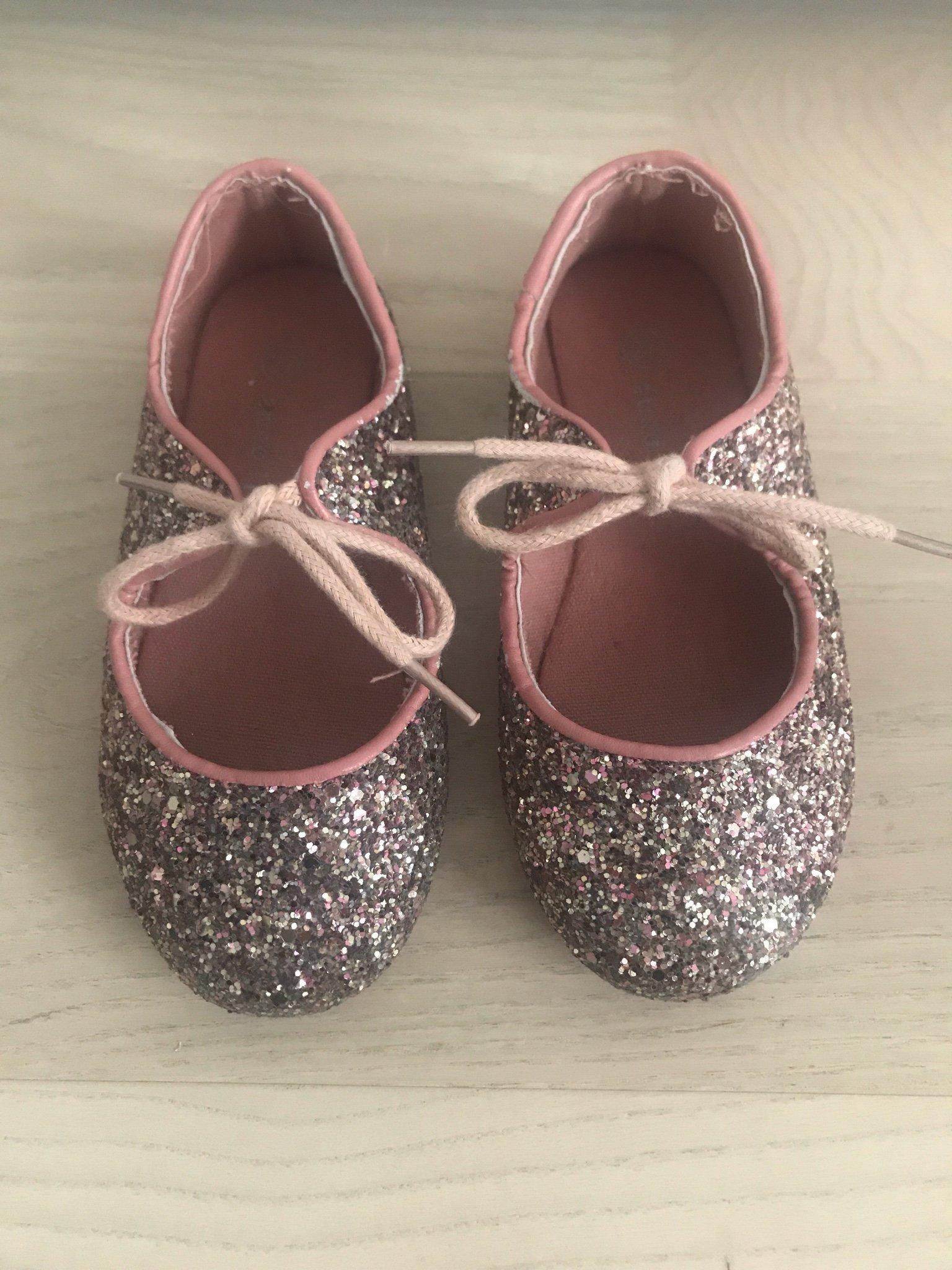63c072c1b53 Paljettsko ballerina skor barn paljett rosa str.. (353335916) ᐈ Köp ...