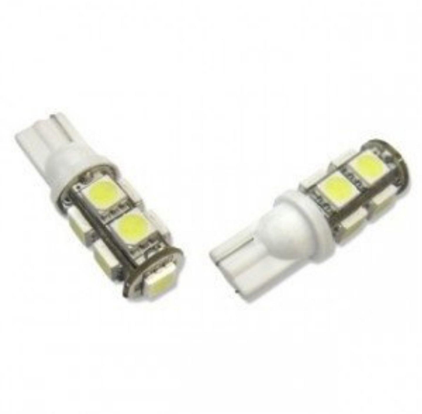 T10 LED lampa xenonvit 2 pack (391498204) ᐈ Köp på Tradera