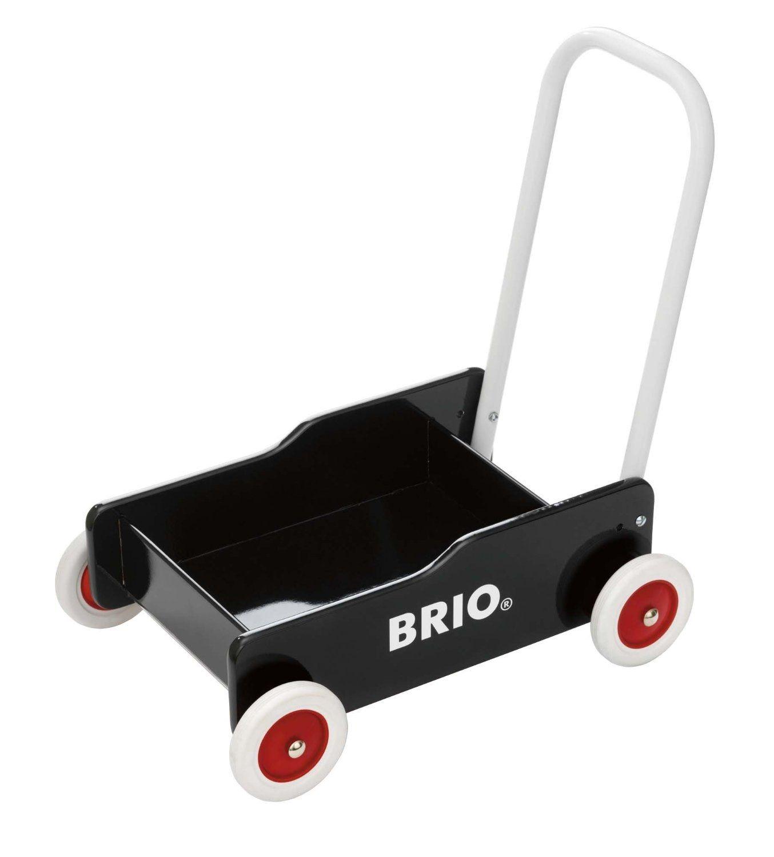 BRIO BRIO BRIO - Lära-gå-vagn, Svart (31351) ef111a
