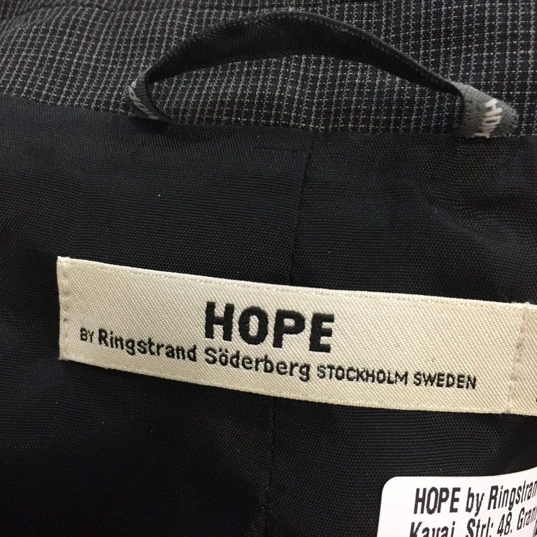 HOPE by Ringstrand Söderberg, Kavaj, Strl: 48, Grant Blazer, Grå Grå Grå 8a1000