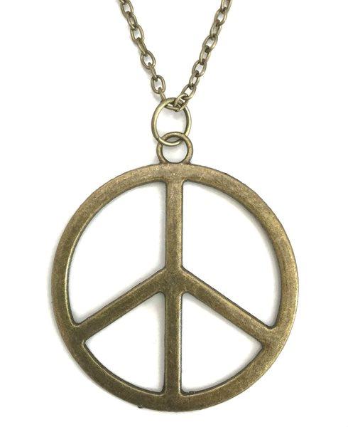 Halsband PEACE Symbol Fredstecken Stort.. (288026936) ᐈ Skalfynd på ... 4e9efca73498d