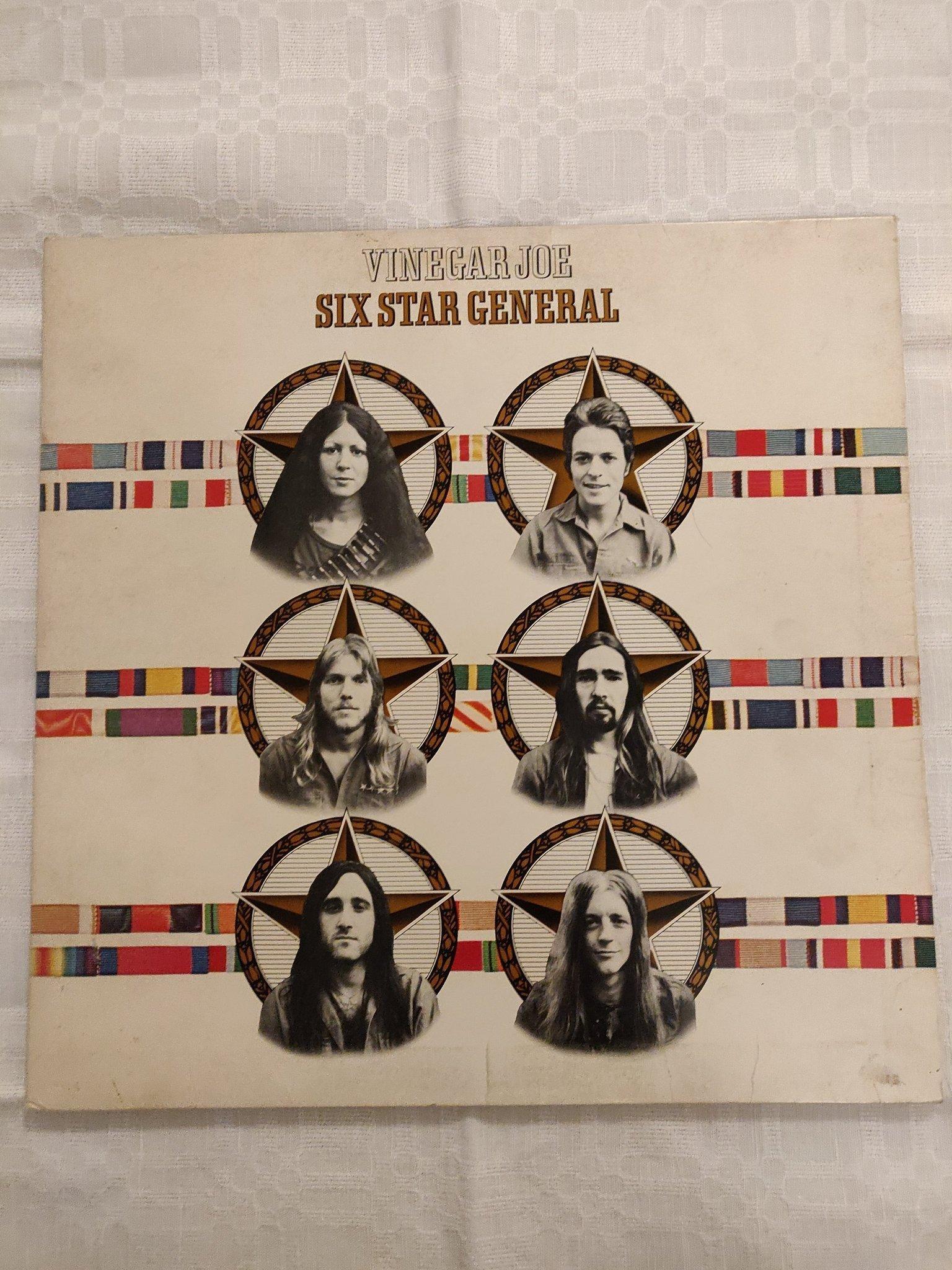 Vinegar Joe Six Star General Vinyl