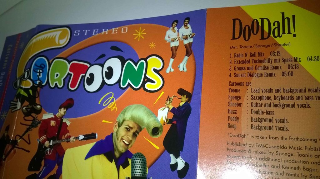 Cartoons - DooDah! single CD