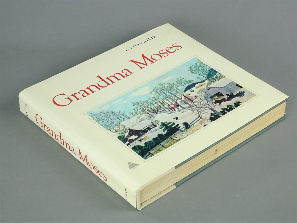 Grandma Moses/Otto Kallir artbook art book konstbok