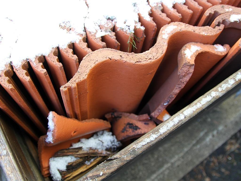 Inredning takpannor benders : 85 st. Takpannor i betongtegel - Benders på Tradera.com - Tak |