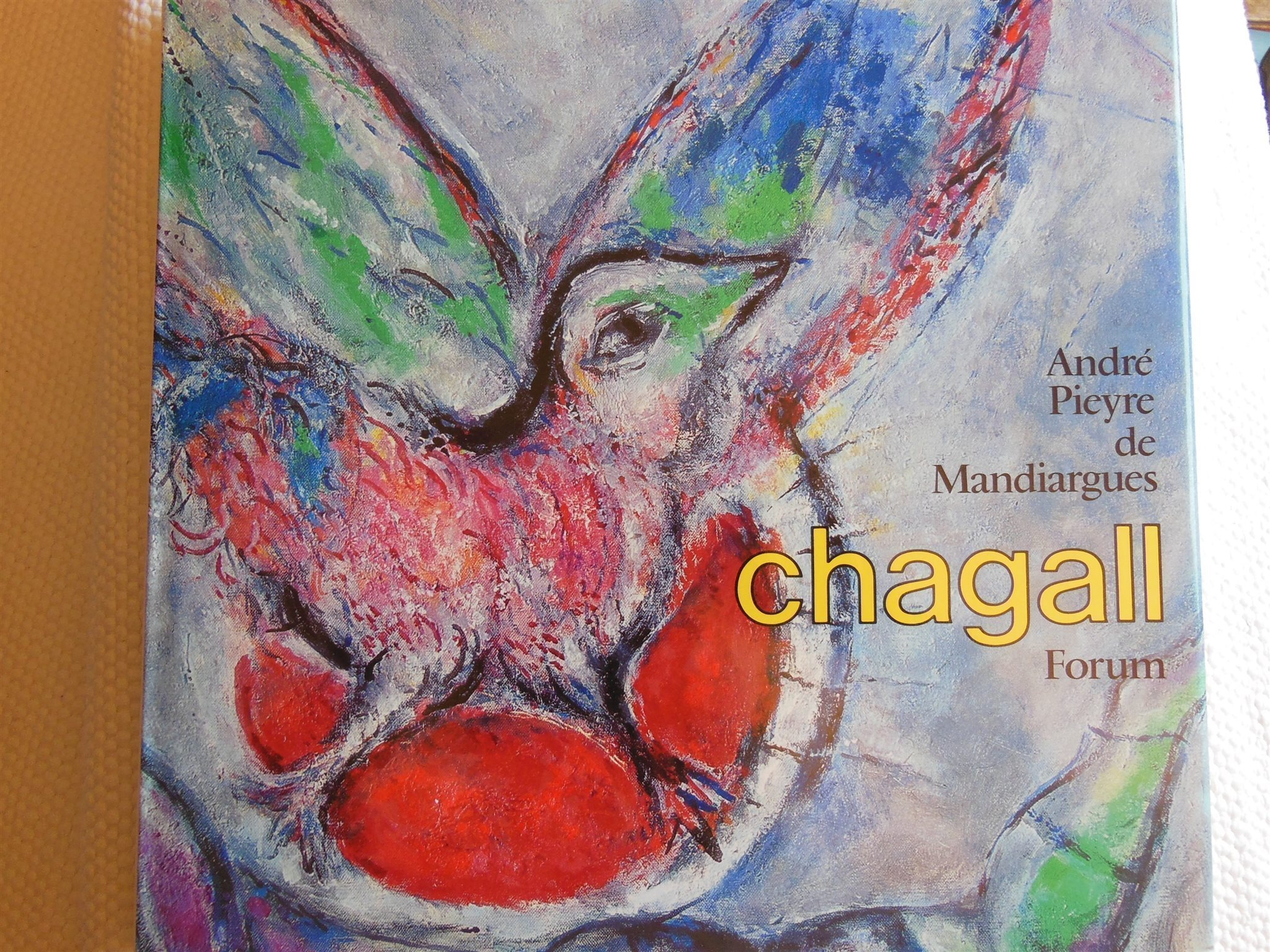 CHAGALL, 152 avbildade verk samt Originallitografi i början av boken, Numrerad