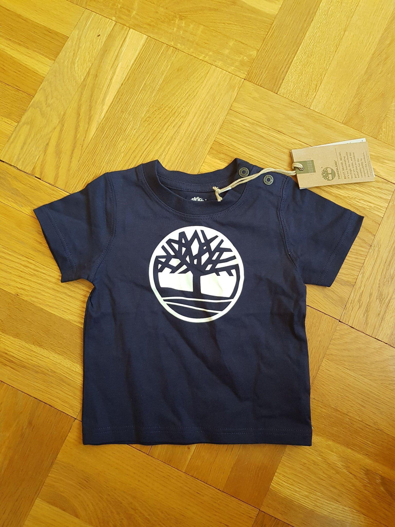 7ec8de7c9a2 Ny TIMBERLAND T shirt i str 9 mån (352918737) ᐈ Köp på Tradera