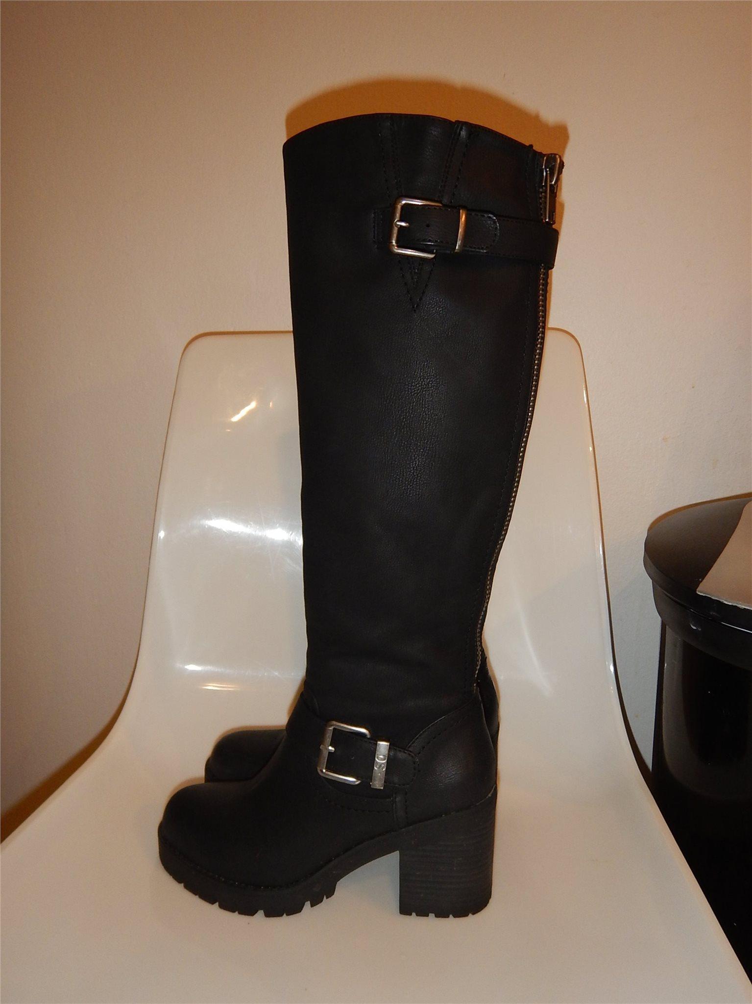 Svarta stövlar Din sko storlek 36 (338420918) ᐈ Köp på Tradera
