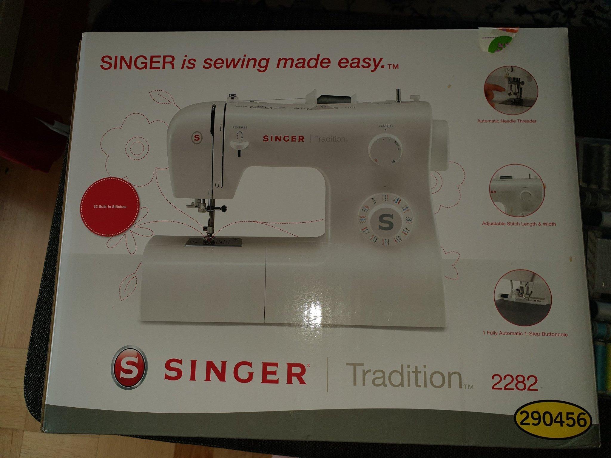 singer symaskin 2282
